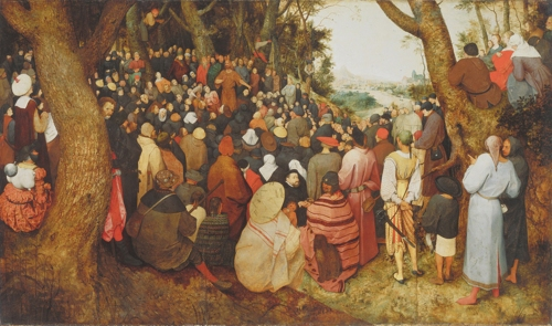 Die Predigt Johannes des Täufers (Bruegel)