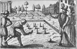 16th century lawn bowls