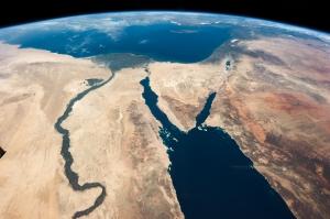 ISS035-E-007148_Nile_-_Sinai_-_Dead_Sea_-_Wide_Angle_View